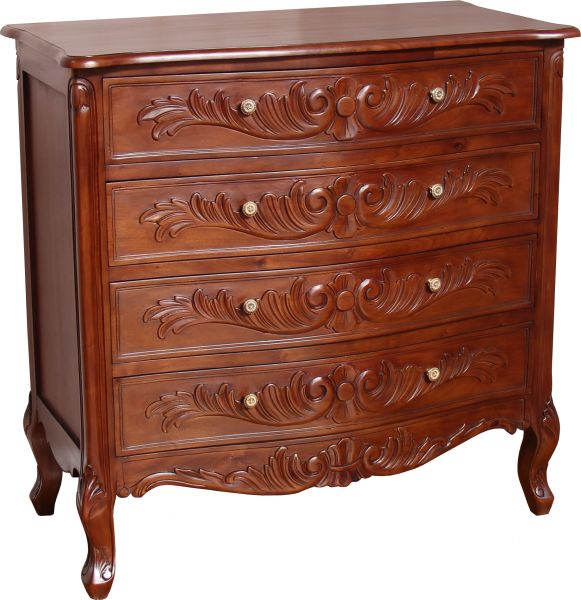 4 Drawer French Rococo Chest CHT103