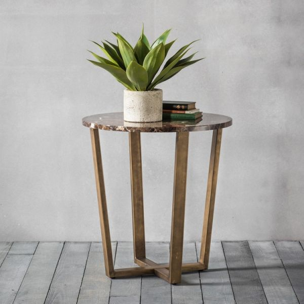 Frank Hudson Emperor Round Side Table