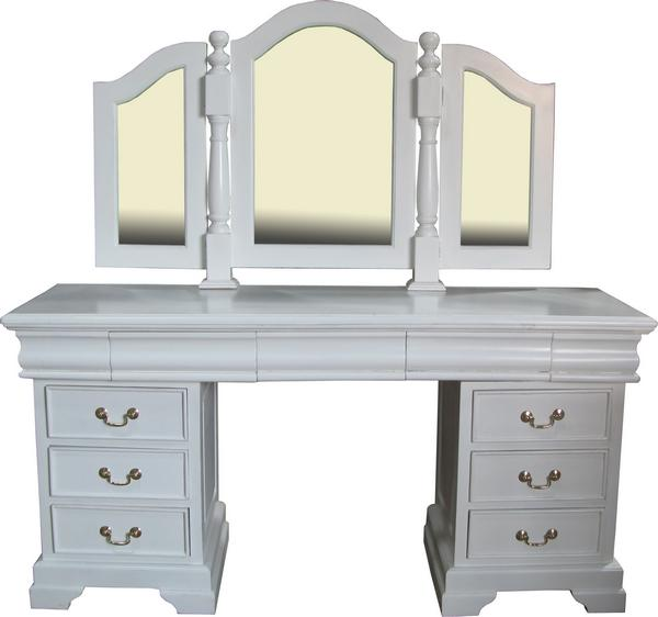 9 drawer dressing table dst001p lock stock barrel. Black Bedroom Furniture Sets. Home Design Ideas