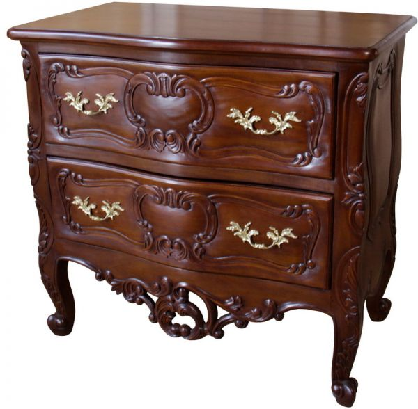 French Rococo 2 Drawer Chest CHT035