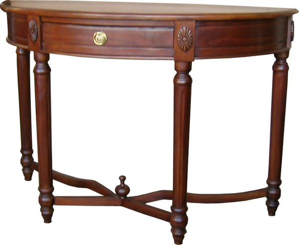 Demi Lune Regency Table T042