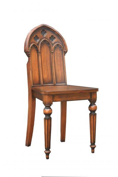 Mahogany Gothic Chair