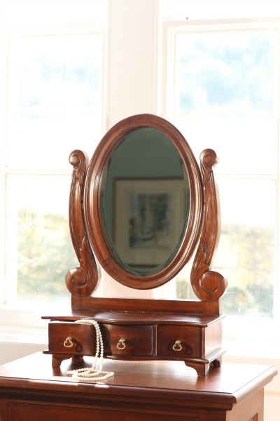 Dressing Table Mirror with drawers MR006