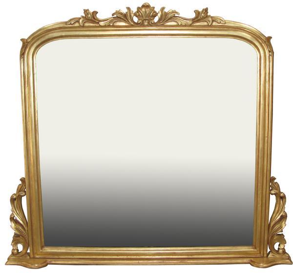 Mantel mirror mr016 lock stock barrel for Mantel mirrors