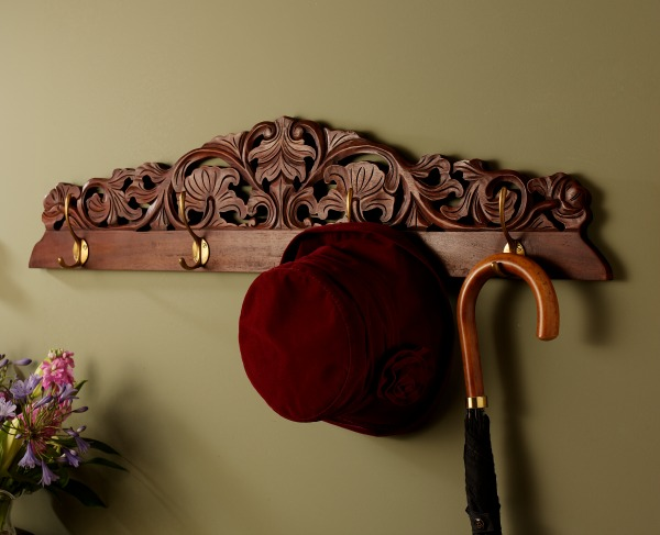 Carved Coat Hook