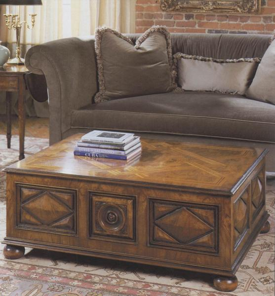 Tuscan Walnut Coffee Table