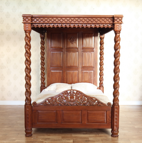 Janna Four Poster Bed B019 Lock Stock Amp Barrel