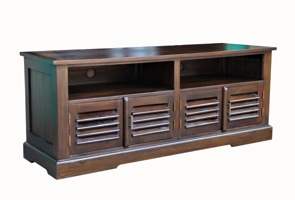 Bali Solid Teak TV Stand