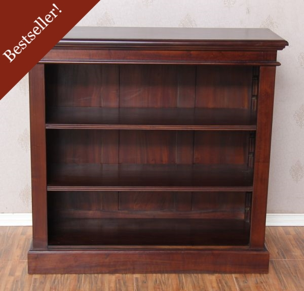2 Shelf Simple Bookcase BCS040