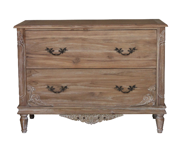 CLEARANCE- Belle French Weathered Chest of Drawers