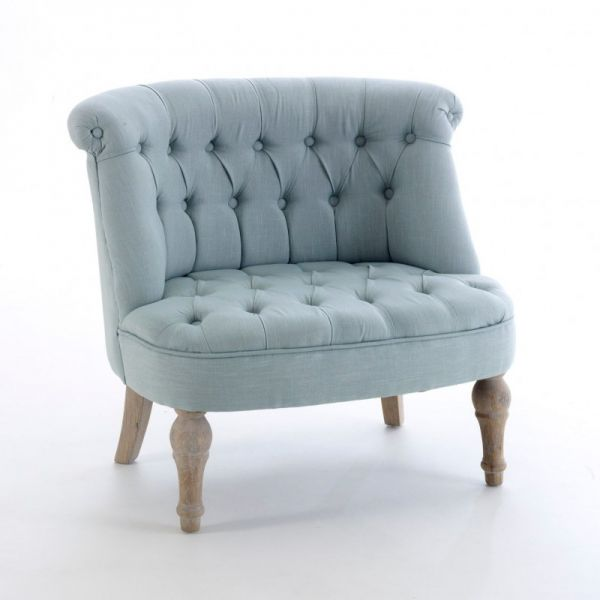 Cosy Blue Barrel Back Chair - YF1902D