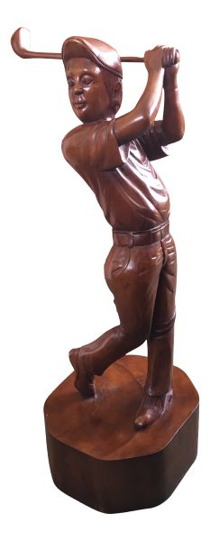 Large Male Golfer Statue / Ornament