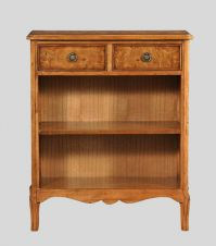 Hampton Console Walnut Bookcase
