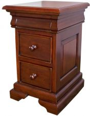 French Louis Philippe Sleigh Style Dressing Table with Folding Mirror and Stool DST015