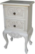 2 Drawer French Bedside BS007P