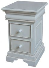 French Louis Philippe Sleigh Style 2-3 drawer Bedside BS040P