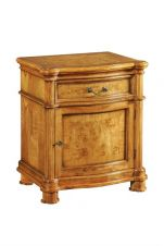 CLEARANCE- Hampton Walnut Bedside
