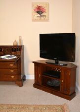 Solid Mahogany Corner TV Unit CBN002