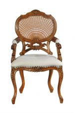 Hampton French Rattan Chair CHRW002