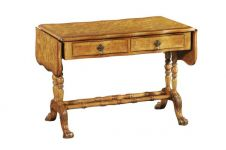 CLEARANCE - Hampton Walnut Drop Leaf Library Table H2015
