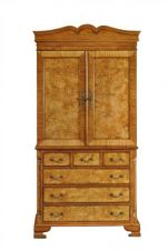 Hampton Walnut Linen Press