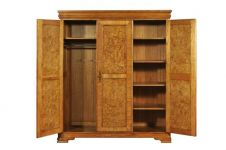 Hampton Triple Walnut Wardrobe