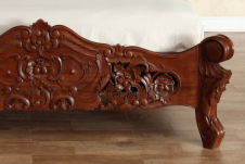 French Rococo Bed (Wax)