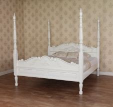 Colonial Four Poster Bed B025P