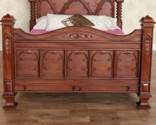 Empire Gothic Bed B046