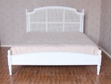 Clarissa Rattan Bed with Low Footboard B077