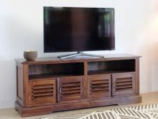 CLEARANCE- Bali Solid Teak TV Stand
