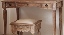 Belle French Weathered Stool