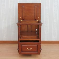Solid Mahogany Printer File Chest