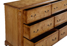 Hampton Walnut Low Wide Chest CHTW003