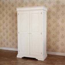 French Louis Philippe sleigh style double wardrobe ARM025LP