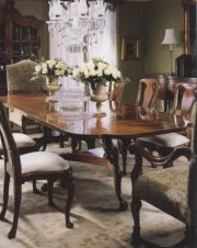 Mahogany Chippendale Dining Table