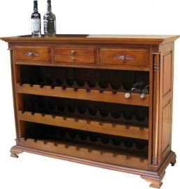 4 Drawer Wine Rack RCK017