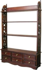 6 Drawer Bookcase / Wall Rack RCK004