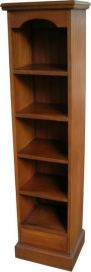 Solid Mahogany DVD shelf / bookcase OCS016