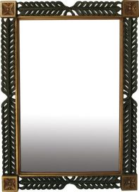 Leaf Carved Mirror MR011