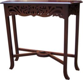 Fretwork Carved Console Table TO33
