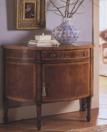 Demi Lune Walnut Chest