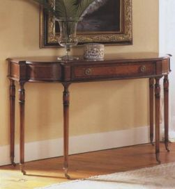English Walnut Writing Desk