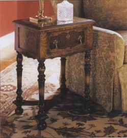 William and Mary Walnut Side Table