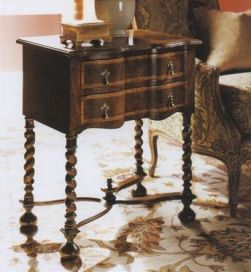 William and Mary Walnut Lowboy