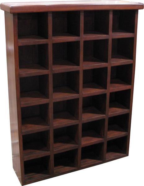 CLEARANCE- 24 Section CD Rack OCS014