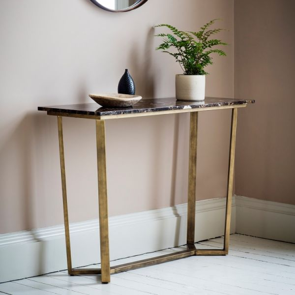 Frank Hudson Emperor Marble Console Table