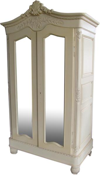 Elegance French Mirrored Armoire  ARM005P