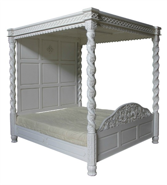 CLEARANCE- Janna Four Poster Bed B019P