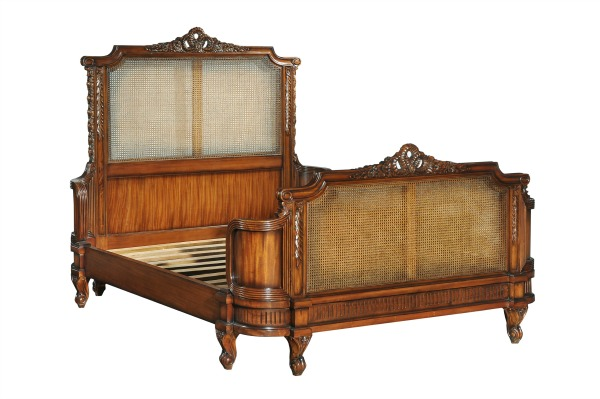 Antoinette French Caned Bed CFR0009
